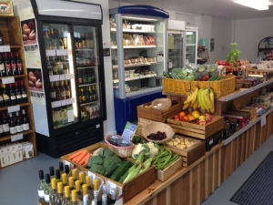 The interior of the new Hockeys Farm Shop