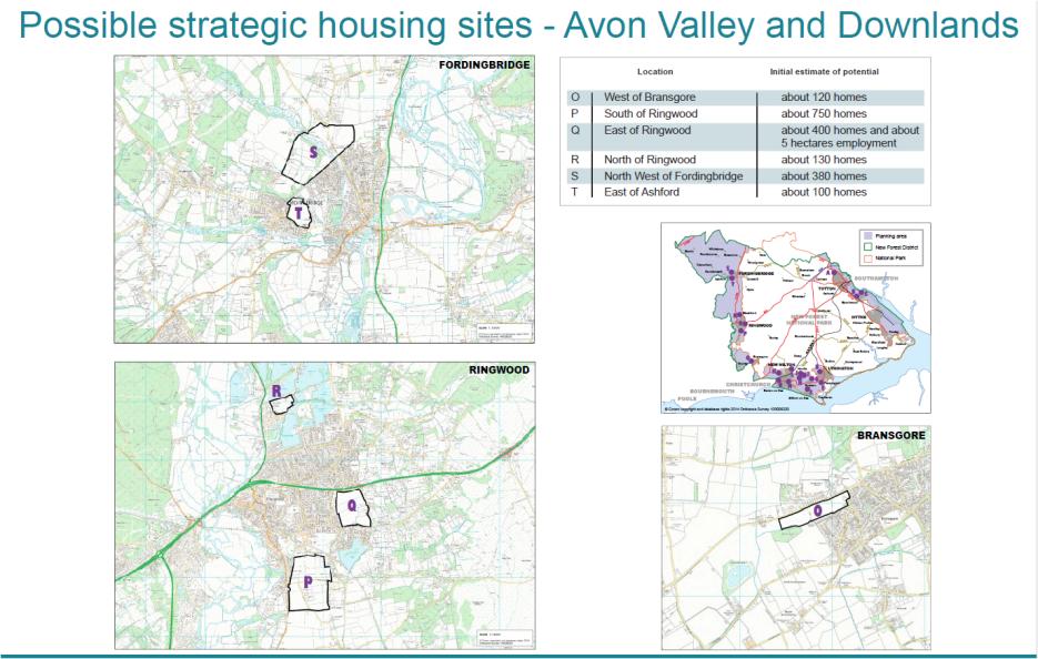 Avon Valley sites